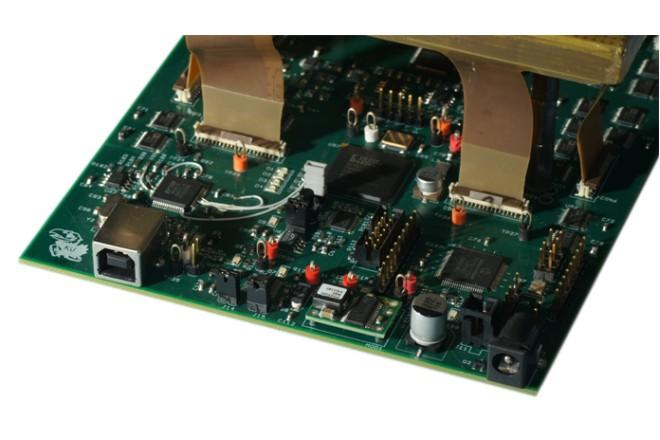 High Speed acquisition board for a new mouse actometer