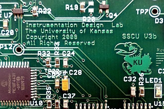Microcontroller on a stand-alone spin-speed controller board