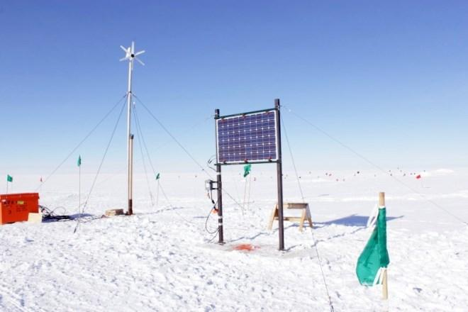 Renewable Energy at the South Pole