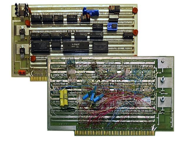 Wire Wrap board from the 1970s