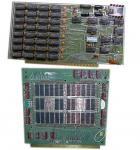 4k semiconductor RAM and 4k core memory