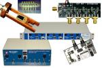 Collection of amplifiers and adapters